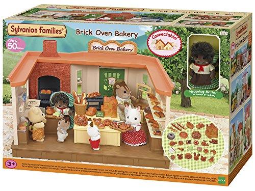 Sylvanian Families Brick Oven Bakery Mini muñecas y Accesorios, (Epoc