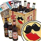 Zur Hochzeit ♥ Geschenk Box Bier ♥ Bierbox DDR ♥ Zur Hochzeit ♥ Bier Paket ♥ Geschenke für die Hochzeit ♥ INKL 3 Urkunden, 6 Geschenkkarten + Umschläge, Bier Bewertungsbogen