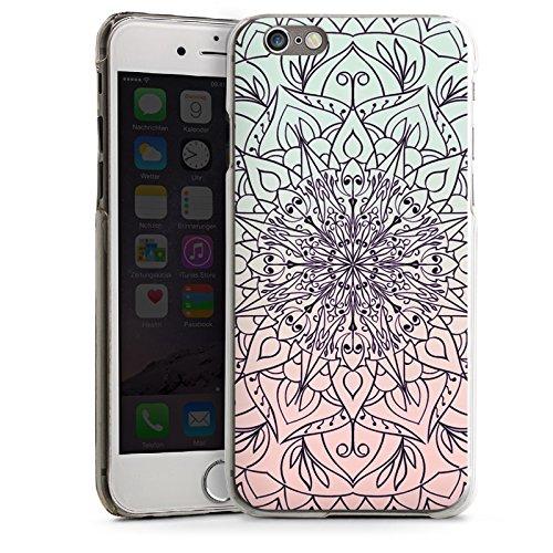 Apple iPhone SE Housse Outdoor Étui militaire Coque Mandala couleurs Tendance CasDur transparent