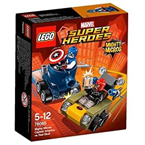 LEGO Super Heroes 76065: Mighty Micros: Captain America vs. Red S