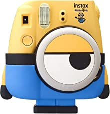 Fujifilm Instax Cute and Compact Minion Body Design Mini 8 Film Camera (Yellow)