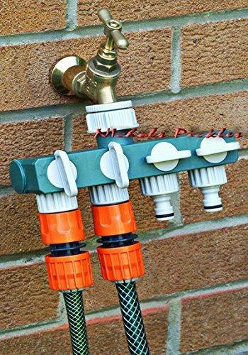 Generic A1. Num. 4267. Cry. 1.. 4 Way Garden Arden TA adaptateur connecteur Adapto répartiteur Spli robinet/tuyau d'arrosage.. NV _ 1001004267-wruk23 _ 1437