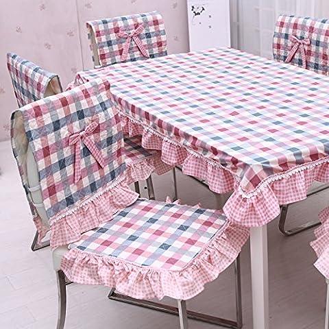 Tenuta di Charlotte quilting + indietro da pranzo sedia cuscini cuscino per sedie cuscino cuscino sedia di intrattenimenti si estende , 90x90 cm - Quilting Tavolo