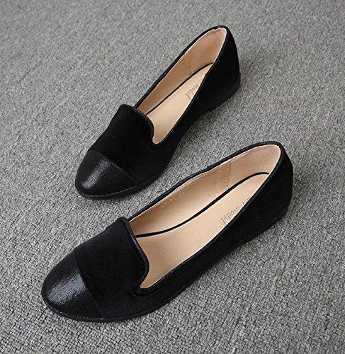 &qq Chaussures pour femmes en Angleterre, chaussures décontractées, chaussures de travail, chaussures plates 38
