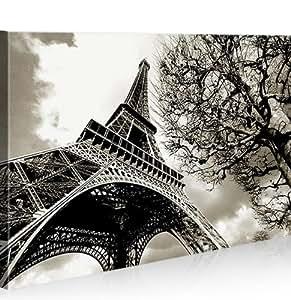 Eiffel torre parigi 1p quadro su tela pronto da for Quadri di parigi