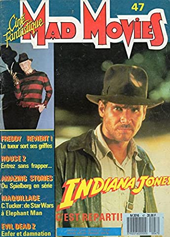 Mad Movies, n° 47 du mai 1987 : Indiana Jones, c