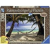 Ravensburger Italy 19916 - Puzzle in Cartone Vista Mare, 1200 Pezzi Effetto Legno