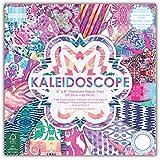 First Edition Kaleidoscope - Fogli di carta FSC per découpage, 20,3 x 20,3 cm