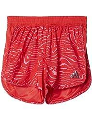 adidas Yg Tr Mara Sh Pantalón Corto, Niñas, Rosa (Rosbas / Rossen), 116