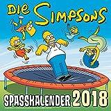 Simpsons Wandkalender 2018: Die Simpsons: Spaßkalender 2018 - Matt Groening