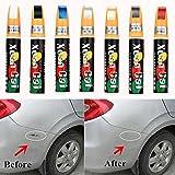 sunnymi Auto Lackstift,Versiegelungsstift für Lackkratzer,Kratzer Entferner Reparaturstift,Reparatur Remover Entfernen Tool (Auto, Rot)