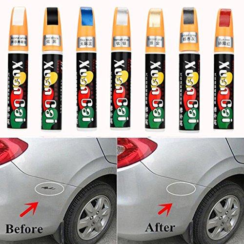 Kratzer-reparatur-remover (sunnymi Auto Lackstift,Versiegelungsstift für Lackkratzer,Kratzer Entferner Reparaturstift,Reparatur Remover Entfernen Tool (Auto, Rot))