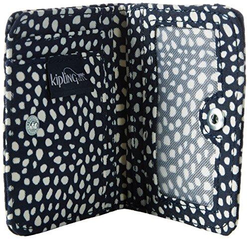 Kipling - Florencia, Portafogli Donna Multicolore (Dot Dot Dot)