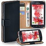 Samsung Galaxy Ace 4 Hülle Schwarz mit Kartenfach [OneFlow