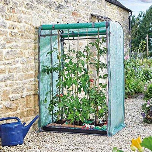 Gewächshaus / Gartenhaus, Tomato GroZone Max, doppelseitig, Pflanzenbeutel / Folientunnel