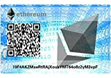Ethereum Paper Wallet Card, Hardware Wall