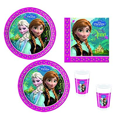 Disney Frozen Frozen de fiesta de 52piezas Vajilla Fiesta de cumpleaños infantil por Procos