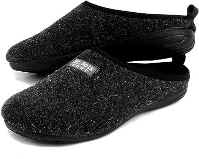 St.Polk® - Pantofole da donna/uomo, realizzate in Spagna, originali, unisex, per l'inverno e l'estate, massima comodità, suola in gomma, soletta rimovibile