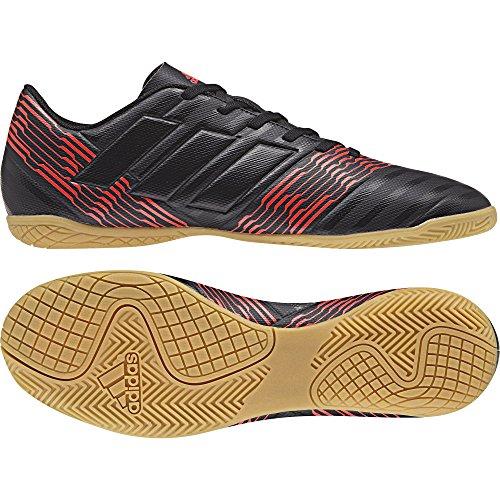 adidas Herren Nemeziz Tango 17.4 Fußballschuhe schwarz / neonrot