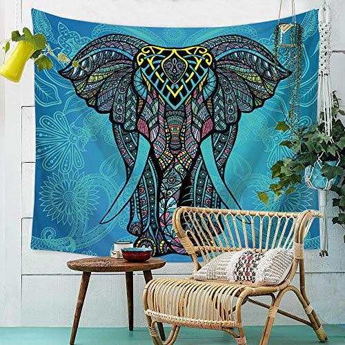 mubgo Tapiz Tapiz Tapiz De Elefante Mandala Colgante De Pared Dormitorio Lanzamiento De Playa Elefante Indio Tapiz De Pared Hippie Indio Bohemio 150x200cm