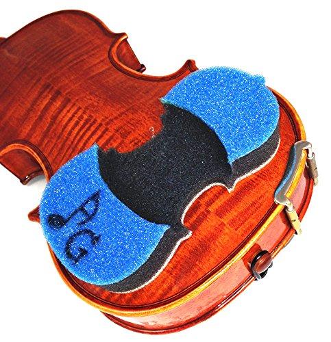 AcoustaGrip NEW 2017 \'PRODIGY BLUE\' Violin Shoulder Rest--Fits 1/8, 1/4, and 1/2 Size Violins and Violas