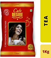 Cafe Desire Instant Cardamom Red Range Tea Premix, 1kg