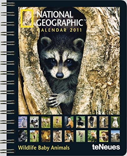 National Geographic Wildlife Baby Animals 2011 por teNeues