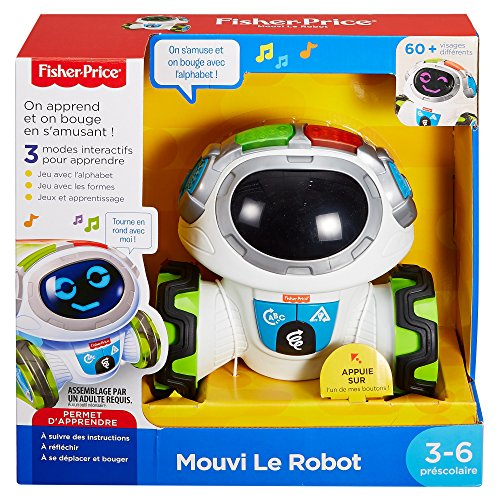 Fisher Price - Mouvi le Robot 0887961544251