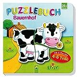 Puzzlebuch Bauernhof: Mit 5 Puzzles á 4-6 Teile - Vera Brüggemann