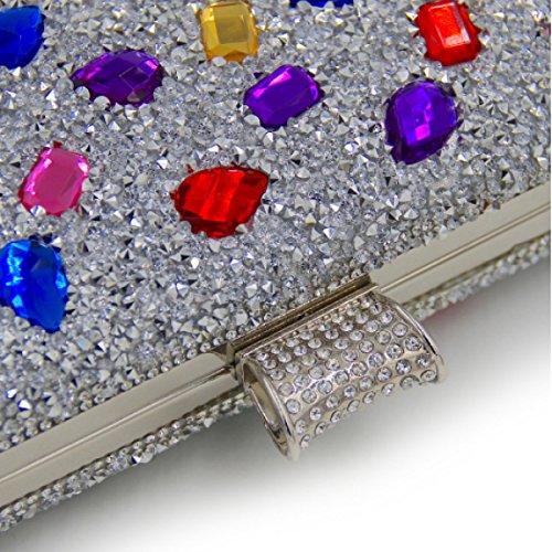 Borsa Da Sera Femminile Di Alta Qualità Borsa Del Diamante B