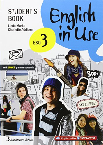 English in use 3 eso: student's book