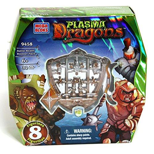 MEGA BLOKS Los dragones construcción Battle Realms