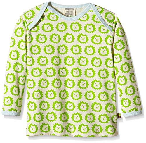 Loud and Proud loud + proud Unisex Baby Sweatshirt 275 Grün (Lime li) 104 (Herstellergröße: 98/104)