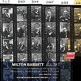 Milton Babbitt:All Set [Import allemand]