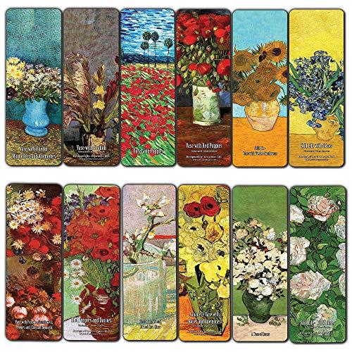 Segnalibri Van Gogh Van Bookmarks (12-Pack)