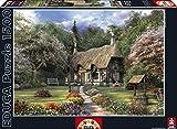 Educa 15165 - Rosen-Cottage, Dominic Davison-Puzzle, 1500 Teile