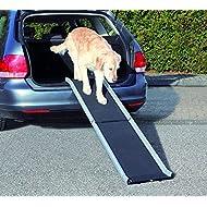 Trixie Aluminium Petwalk Folding Ramp for Dog, 155 x 38 cm, Black