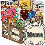 Beste Mama ♥ Schoko Set L ♥ mit Zetti Edel Bitter 75%, Mokka Bohnen und mehr ♥ Geburtstagsgeschenk Mama Geschenke für die Mutter Mama Geschenk persönliches Geschenk für Mama Geschenkideen für Mütter