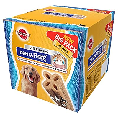 Pedigree Dentaflex Dental Dog Chew - Large Dog, Pack of 9