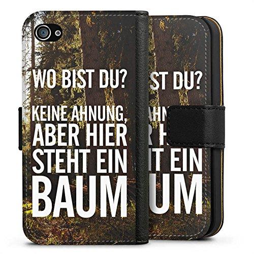 Apple iPhone X Silikon Hülle Case Schutzhülle Sprüche Humor Spruch Sideflip Tasche schwarz