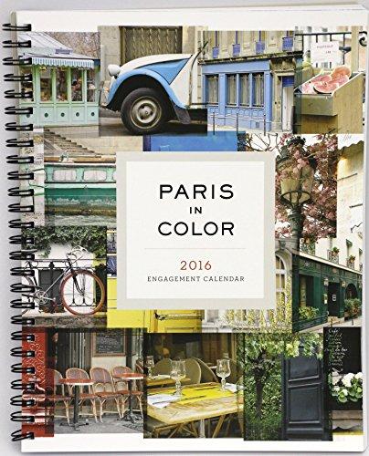 2016 Paris in Color Engagement Calendar