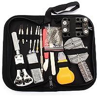 BABAN 144 PCS Orologi Strumenti e kit di riparazione Orologio Attrezzi di Apertura Watch Repair Tool Kit - Tool Kit Pc