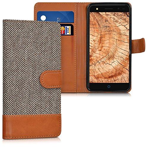 kwmobile Wallet Case Schutzhülle für ZTE Blade V7 Lite (5