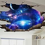 3d - stereo - aufkleber schlafzimmer, wohnzimmer decke tapete wand dekorative wandmalerei selbstklebende meer zeitung.,113cmX58CM