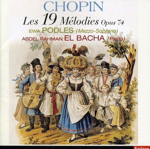 Frederic Chopin: Les 19 Mélodies Opus 74