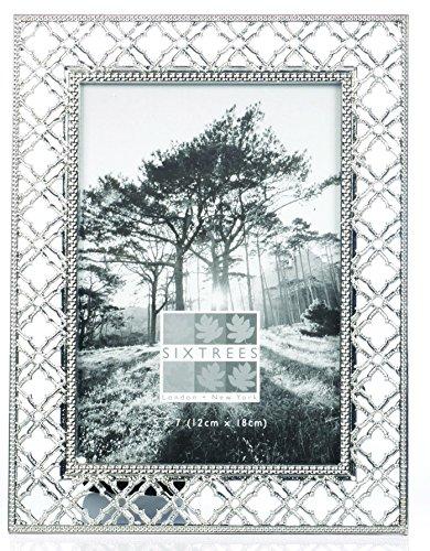 sixtrees-sasco-planning-annuel-cadre-photo-metal-argent-antique