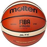 MOLTEN BGLX - Balón de Baloncesto Senior Masculino, Naranja y Marrón Claro, Talla 7