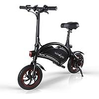 Windgoo Elektrofahrrad, zusammenklappbar, 350 W, Motor, zusammenklappbar, 25 km/h und 15 km, für Erwachsene mit 12 Zoll…