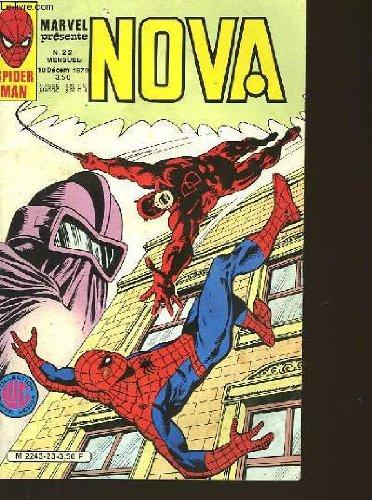 Nova n°23 - spider man