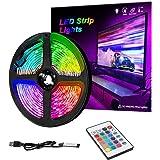 Rubans à LED TV Lightstrip 16 couleurs changeantes 5050 LED pour téléviseur HD Multicolore pour éclairage d'arrière-plan TV P